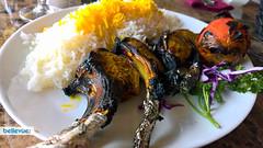 Lamb Shishleek at Caspian Restaurant | Bellevue.com