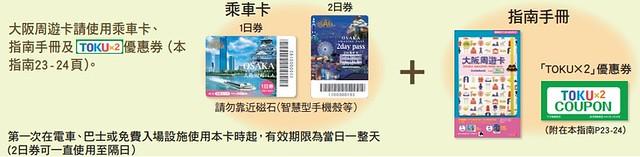 大阪周遊卡1