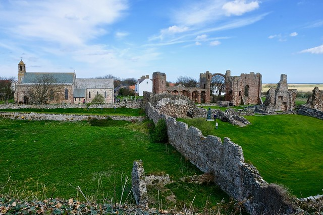 Lindisfarne Abbey and Priory
