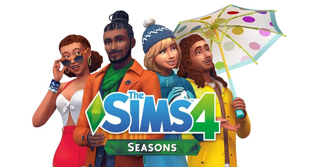 Photo of Capa, Logo e Renders Oficiais do The Sims 4 Estações