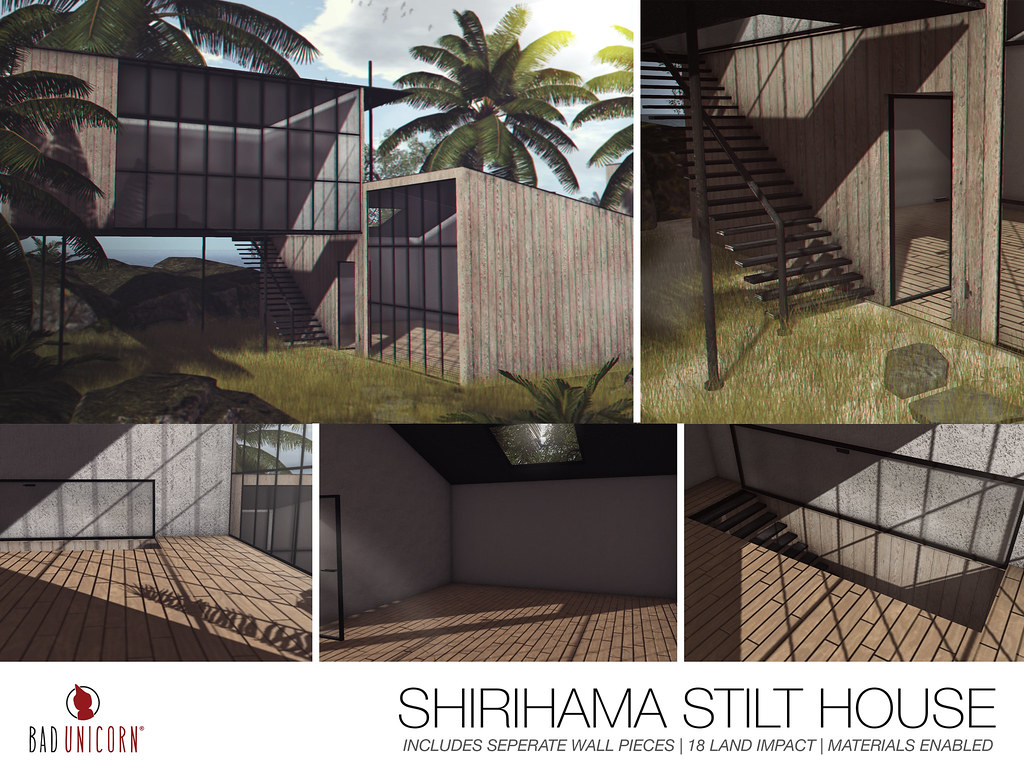 NEW! Shirihama Stilt House @ TMD - TeleportHub.com Live!