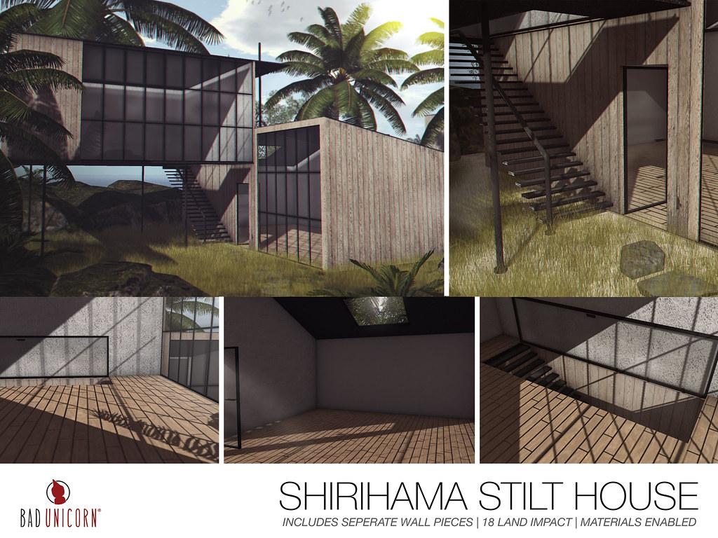 NEW! Shirihama Stilt House @ TMD