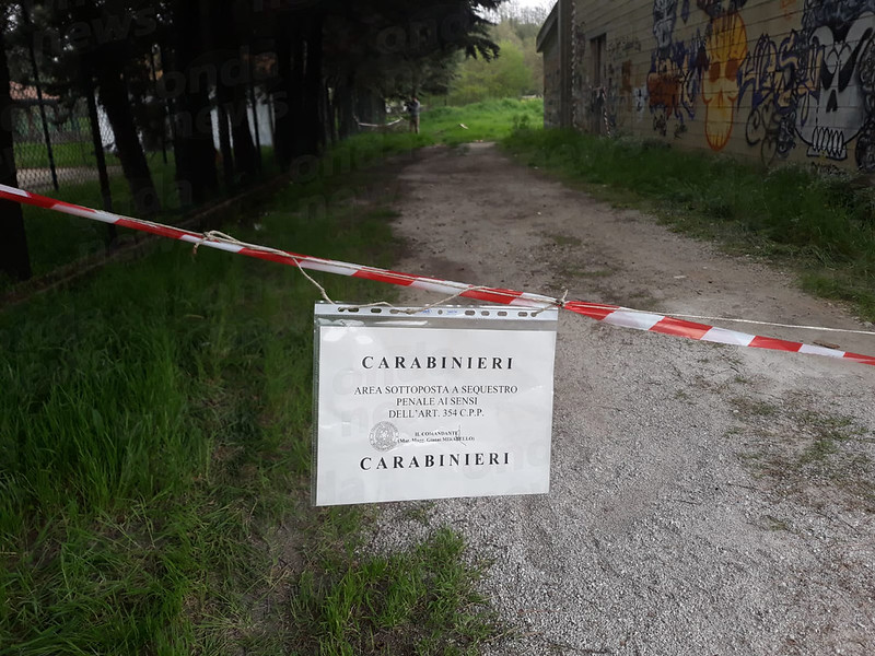 sequestro luogo antonio pascuzzo buonabitacolo sigillo carabinieri