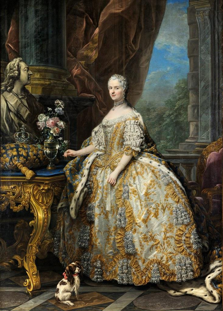 Carle Van Loo - Marie Leszczinska, reine de France (1703-1768)