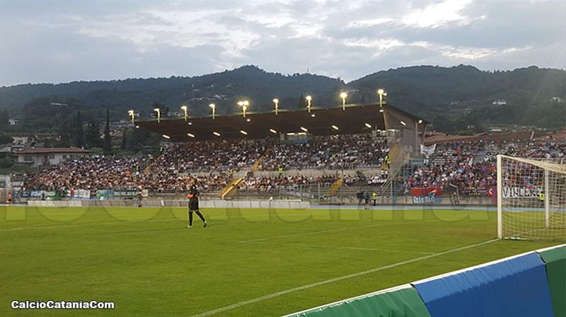 Tribuna dello Stadio Lino Turina