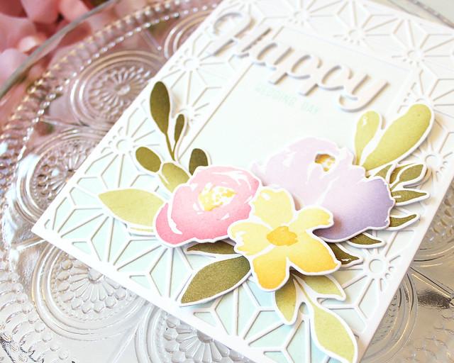 LizzieJones_April2018_PapertreyInk_BotanicalBounty_BoldBorders_HappyWeddingDayCard2