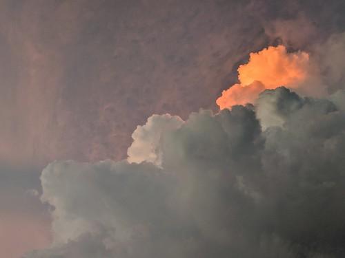 clouds sky sunset sunlight colors pixel phone