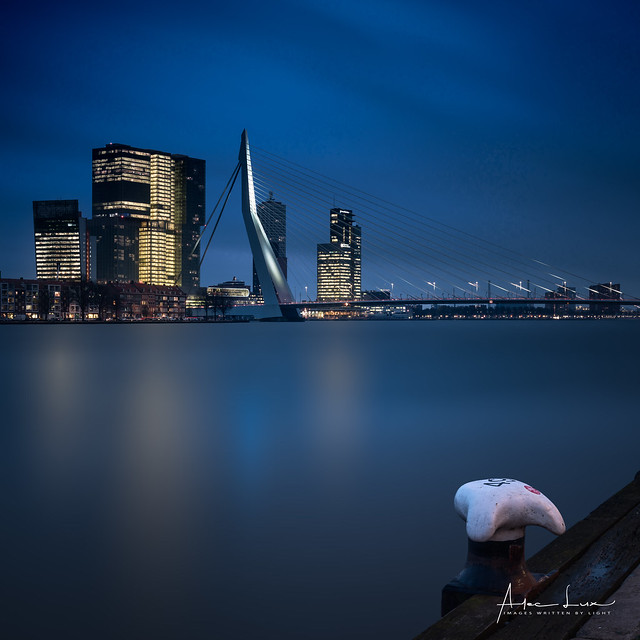 Waiting For The Blue Hour In Rotterdam II