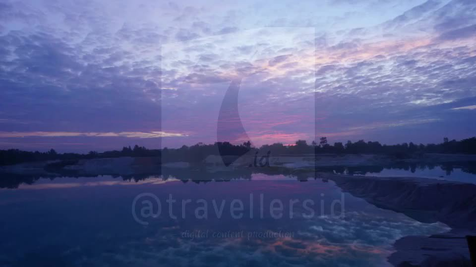 Sunrise at Kaolin Lake, Belitung