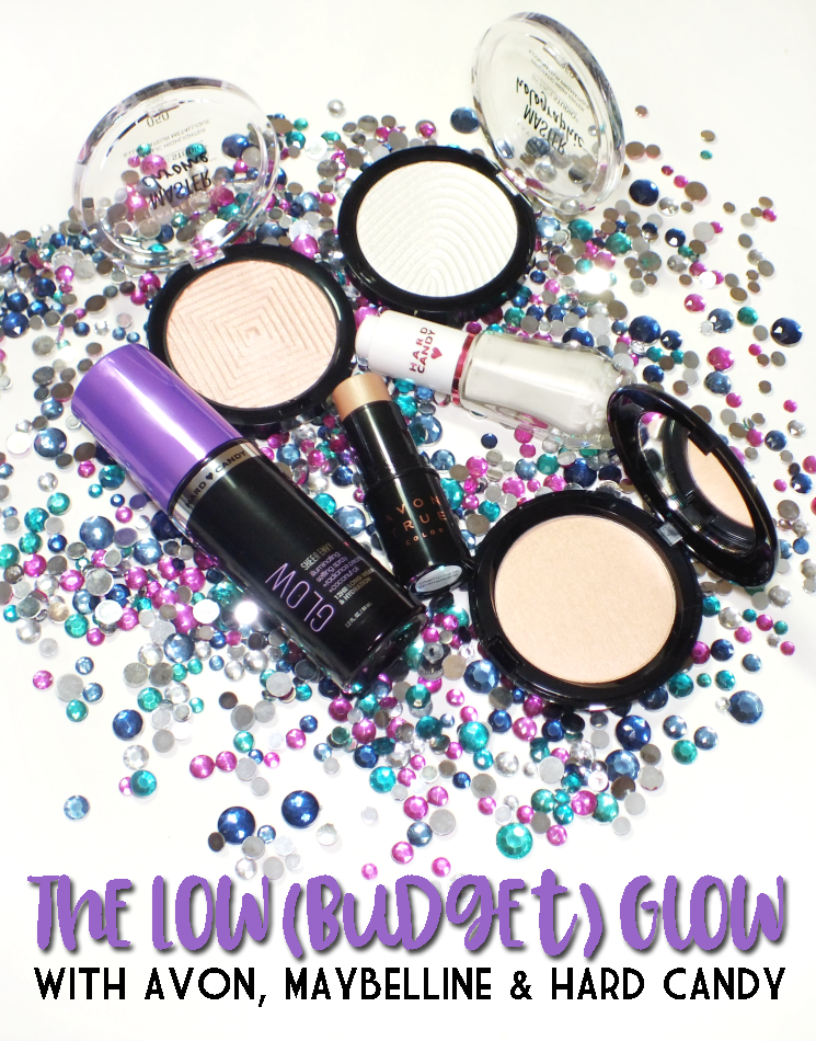 the low (budget) glow avon maybelline hard candy