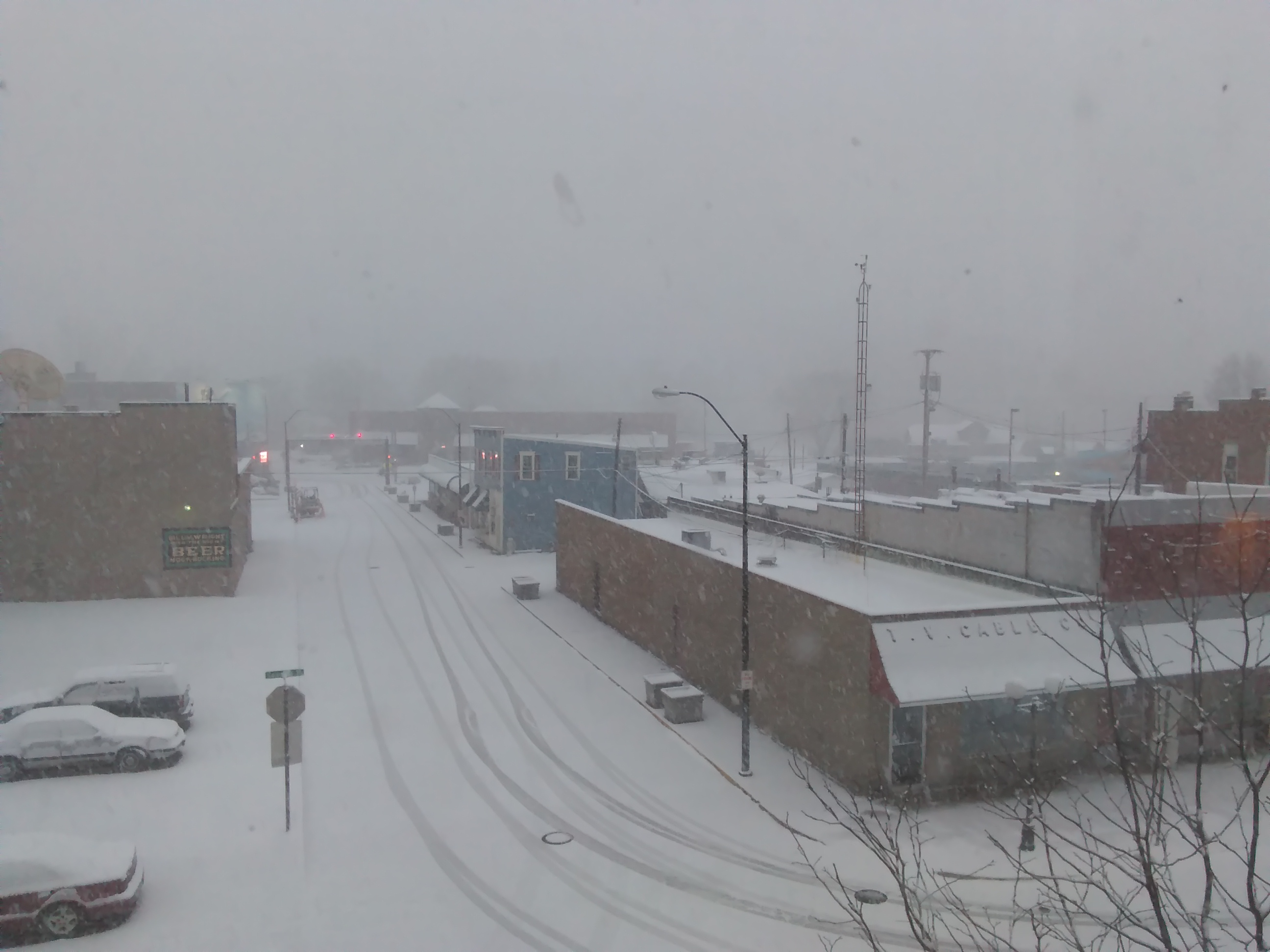 Nelsonville Snow 3-8-2018 7-14-51 AM