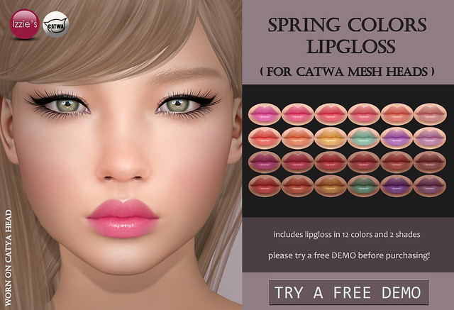 Spring Colors Lipgloss Catwa (for FLF)