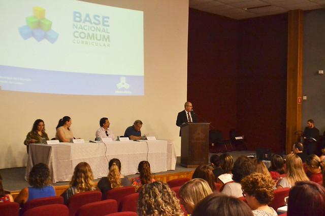 Reunião de Conselhos Municipais sobre a Base Nacional Comum Curricular