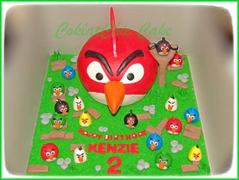 Cake AngryBirds KENZIE 15 cm