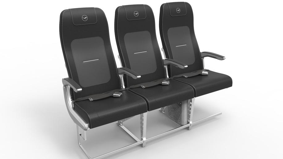 Lufthansa A320 seats