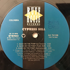 CYPRESS HILL:HAND ON THE PUMP(LABEL SIDE-A)