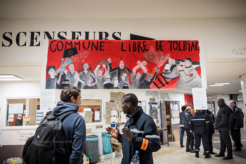 Les étudiants contre la loi ORE