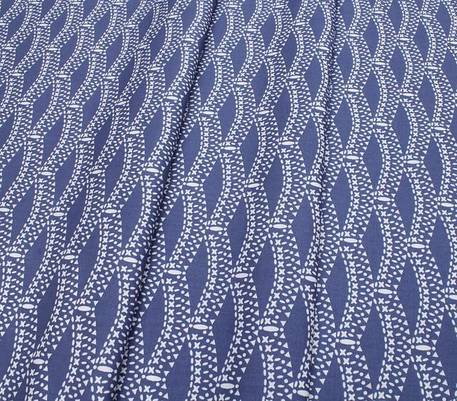 Art Gallery Fabrics Petal & Plume Rumpled Gentian