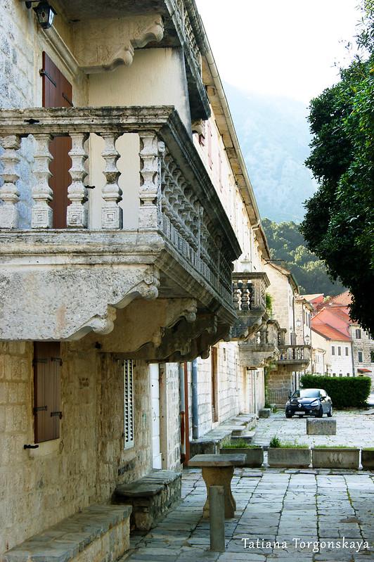Старые дворцы в Прчане