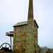 Cornish Engine House at Pool near Redruth, Cornwall, 13th July 1993