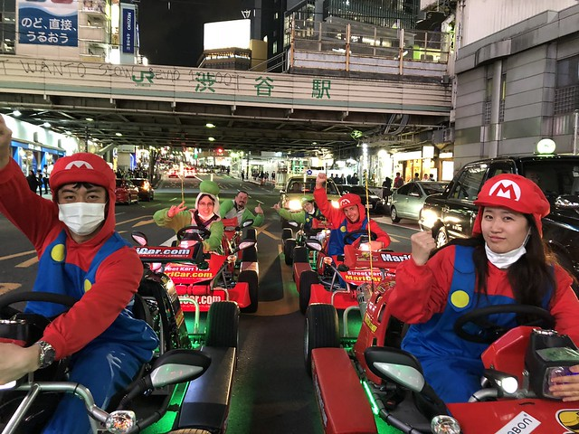 Mario Kart Shibuya