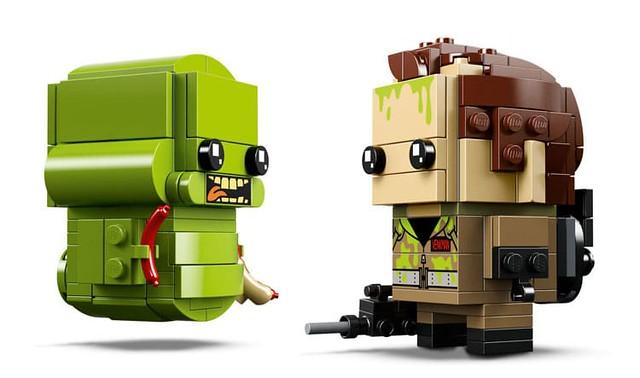這麼可愛的貪吃鬼你捨得抓??LEGO 41622 BrickHeadz 系列《魔鬼剋星》彼得·文克曼&史萊姆 Peter Venkman & Slimer