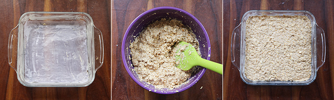 How to make baked oatmeal bars - Step4