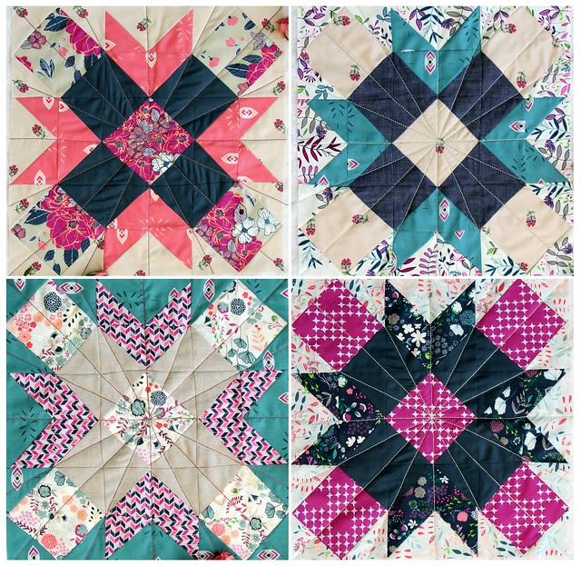Flicker & Fade Quilt Blocks