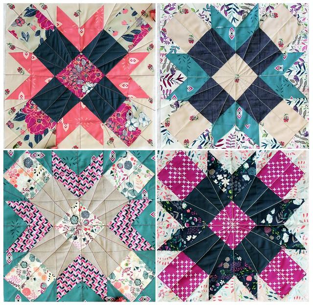 Flicker & Fade Quilt Blocks