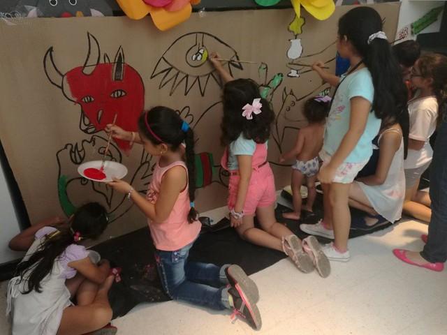 La historia del arte para los niños.