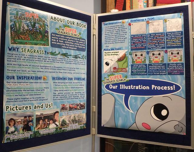 Launch of Raffles Ecolit children's books