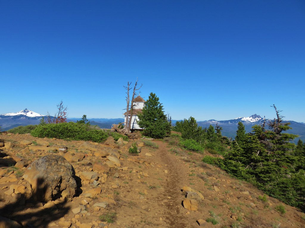 Cupola lookout on Black Butte