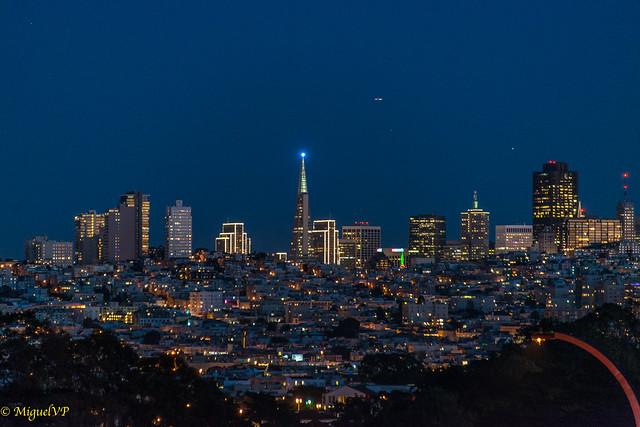 San Francisco, night