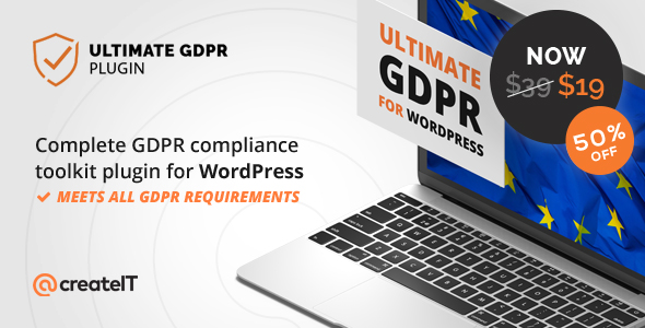 Ultimate GDPR v1.6.3 – Compliance Toolkit for WordPress