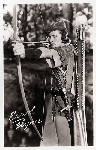 Errol Flynn in The Adventures of Robin Hood (1938)