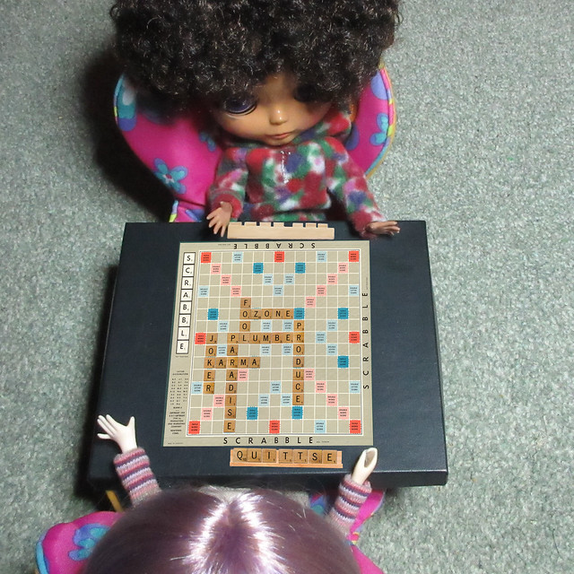 BaD 13 April 2018: Scrabble Day, Canon IXUS 265 HS