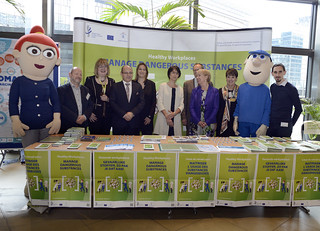 24/04/2018 - 13:51 - Official launch of the Healthy Workplaces Campaign 2018-19: Manage Dangerous Substances