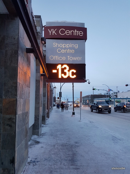 YK Centre temperature