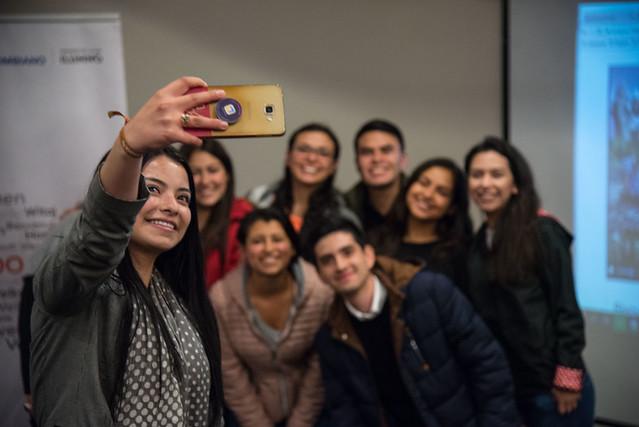 Reunión de cierre y bienvenida de los estudiantes