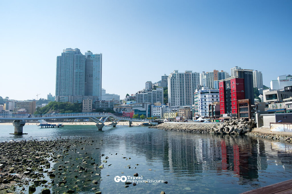 Busan Itinerary songdo beach