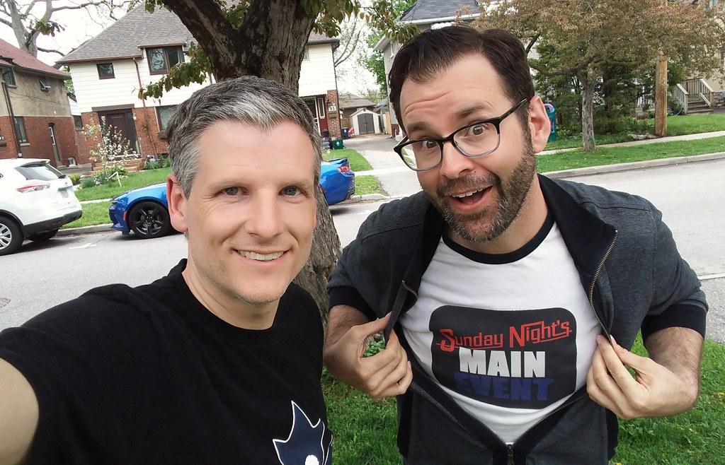 Jason Agnew and me