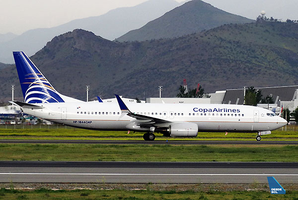 Copa Airlines B737-800 HP1844 (RD)