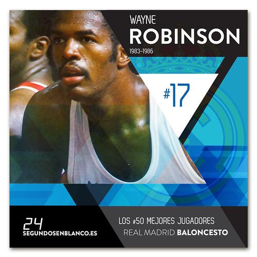 #17 WAYNE ROBINSON