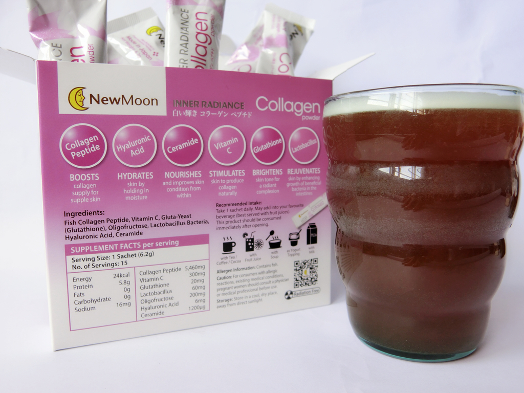 New Moon Inner Radiance Collagen Drink