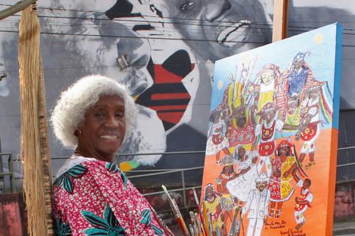 Fundadora do Teatro Solano Trindade, em Embu, Trindade tinha um papel fundamental na promoção da cultura afro-brasileira - Créditos: Prefeitura de Embu das Artes