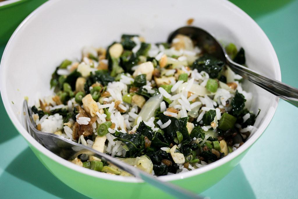 White Rice Mixed