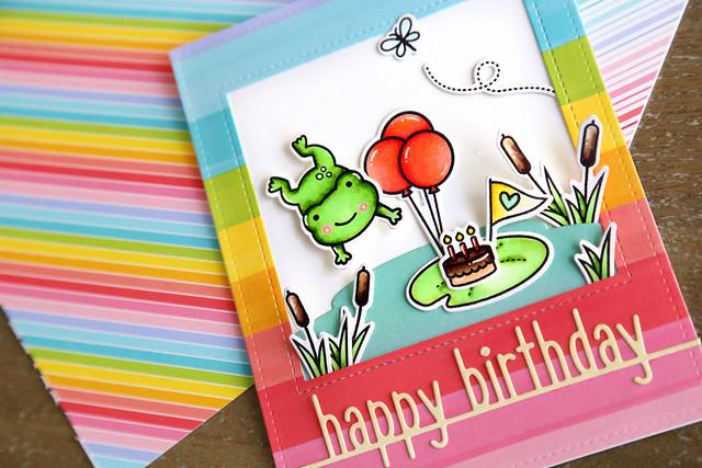 hoppy birthday (Lawn Fawn inspiration week)