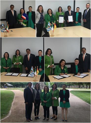 Visita de trabajo al Centro Universitario de Baviera para América Latina