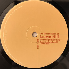 LAURYN HILL:THE MISEDUCATION OF LAURYN HILL(LABEL SIDE-D)