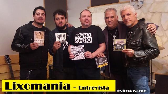 Lixomania - Entrevista no Vitrola Verde